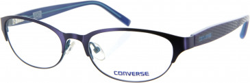 Converse Metal Prescription Glasses in Brown