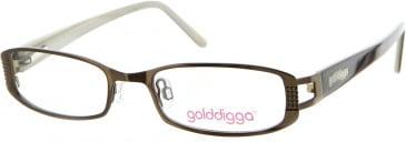 Golddigga GD0011 Glasses in Brown