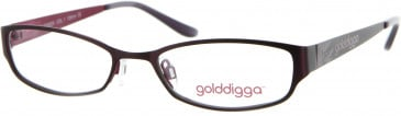 Golddigga GD0029 Glasses in Purple