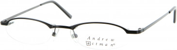Andrew Actman CHEQUER Glasses in Black