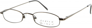 Andrew Actman HAREWOOD Glasses in Brown