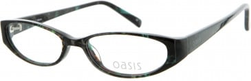 Oasis CROCUS Glasses in Dark Blue