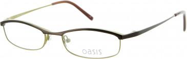 Oasis PROTEA Glasses in Black/Yellow