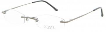 Oasis Petite Metal Prescription Glasses in Silver