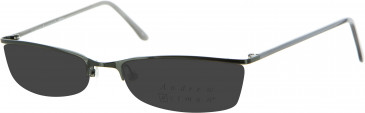 Andrew Actman Metal Prescription Sunglasses