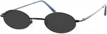 Andrew Actman Small Metal Prescription Sunglasses
