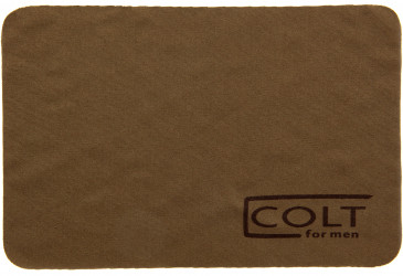 Colt lens cloth in Bronze
