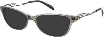 Julien MacDonald JMD0034 sunglasses in Sparkle Grey