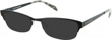 Julien MacDonald JMD003 sunglasses in Black