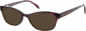 Julien MacDonald JMD004 sunglasses in Red