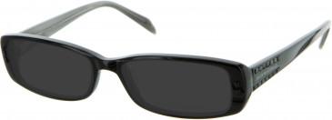 Julien MacDonald JMD0011 sunglasses in Black