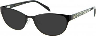 Julien MacDonald JMD0018 sunglasses in Black