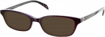 Julien MacDonald JMD0013 sunglasses in Purple