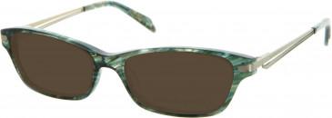 Julien MacDonald JMD0029 sunglasses in Green