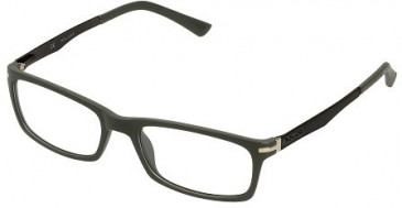 Police V1876 Glasses in Matt Dark Grey