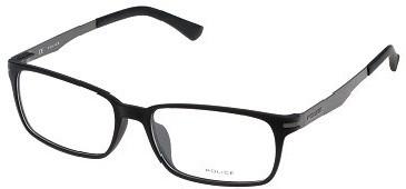 Police V1975 Glasses in Semi-Matt Black