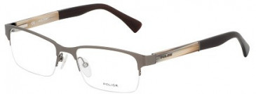 Police V8796 Glasses in Matt Gunmetal
