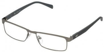 Police V8859 Glasses in Matt Gunmetal