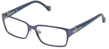 Police V8877M Glasses in Shiny Antique Blue