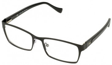 Police V8904 Glasses in Semi-Matt Black