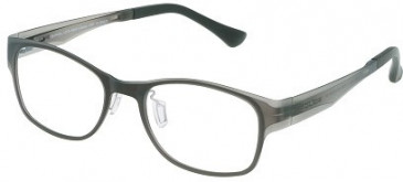 Police VPL008 Glasses in Semi Matt Transparent Green