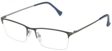 Police VPL043 Glasses in Matt Antiqued Blue