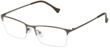 Police VPL043 Glasses in Matt Vintage Palladium