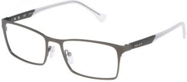 Police VPL048 Glasses in Matt Gunmetal