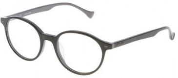 Police VPL058 Glasses in Black/Grey