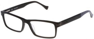 Police VPL064 Glasses in Matt Black