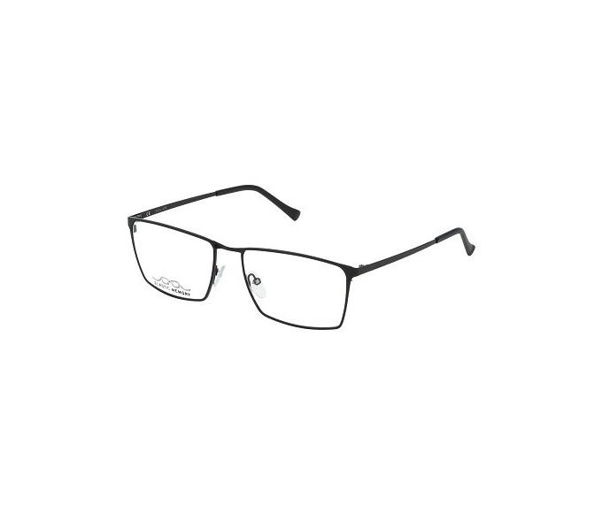 Police VPL243 Glasses in Semi-Matt Black