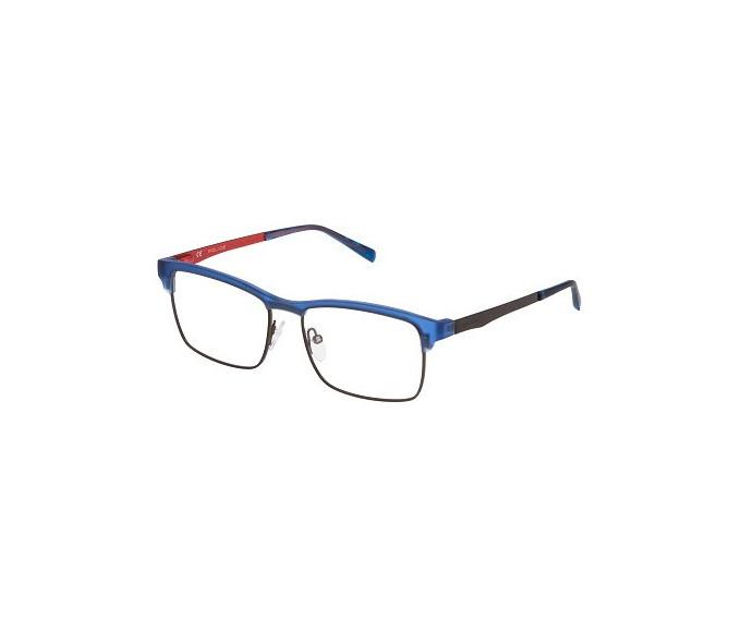 Police VPL260 Glasses in Rubber Blue
