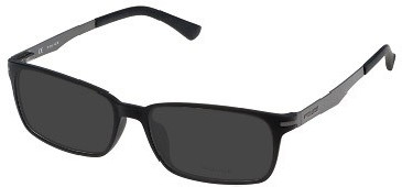 Police Metal Ready-Made Reading Sunglasses
