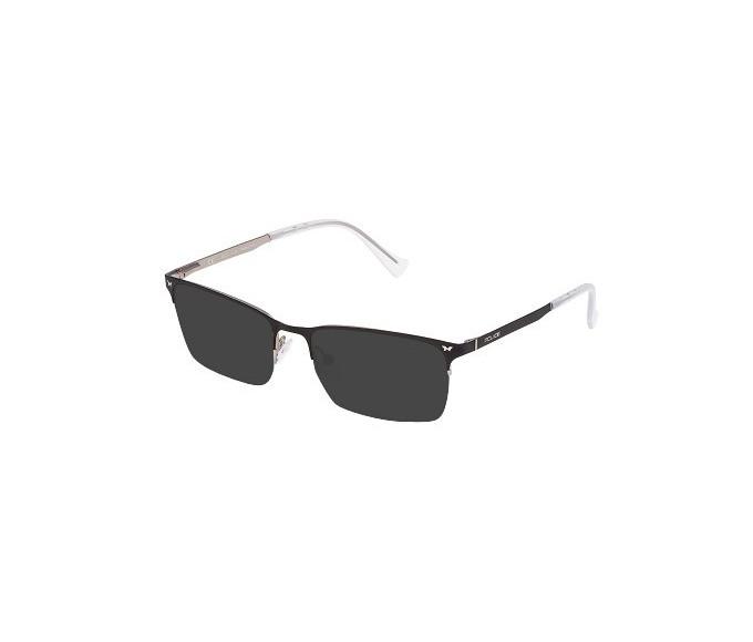 Police VPL288N Sunglasses in Semi-Matt Palladium