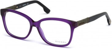 Diesel DL5108 glasses in Shiny Violet