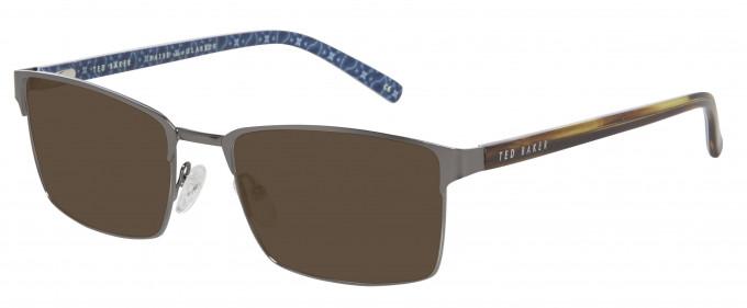 Ted Baker Sunglasses TB4242 in Gunmetal/Light Gunmetal
