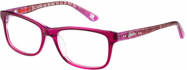 Superdry SDO-15002 Glasses in Gloss Brown Horn