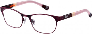 Superdry SDO-DOLLIE Glasses in Matt Red Antique