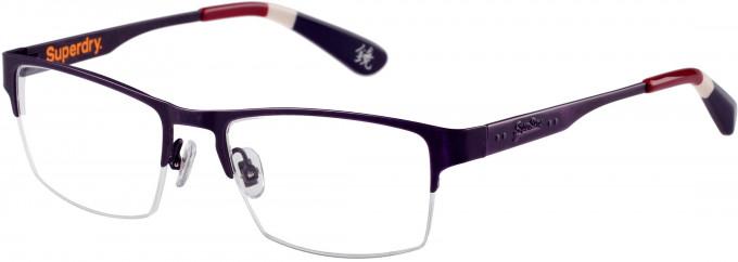 Superdry SDO-JIMMY Glasses in Matt Violet Antique