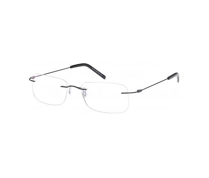 SFE Metal Prescription Glasses in black