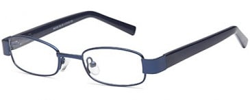 BMX Metal Kids Glasses in blue
