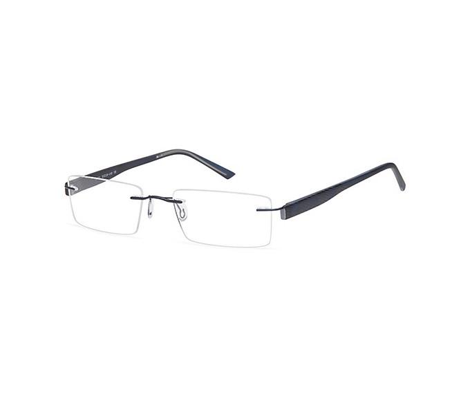 SFE Metal Prescription Glasses in Navy