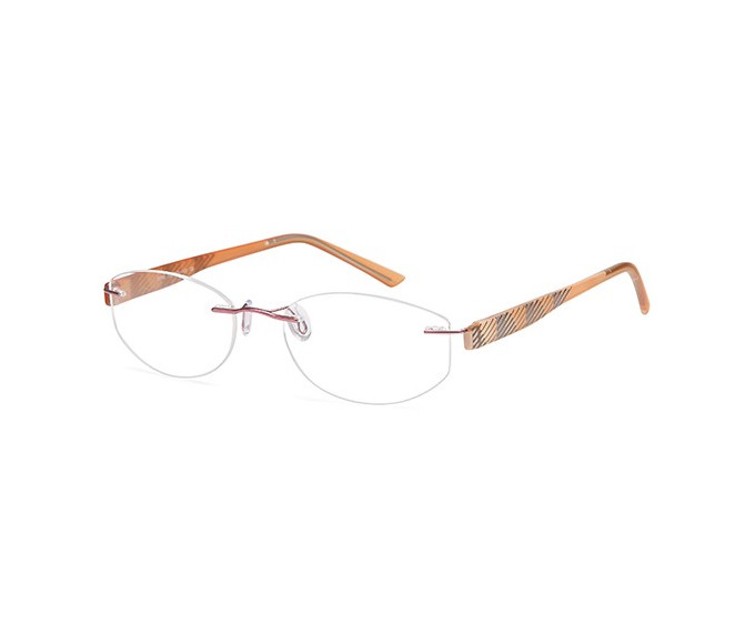 SFE Metal Prescription Glasses in pink
