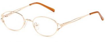 SFE Prescription Glasses in gold