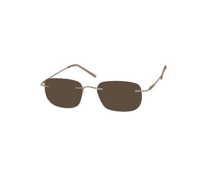 SFE 8353 sunglasses in gold