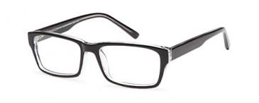 SFE-9609 glasses in Black/Crystal
