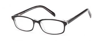 SFE-9610 glasses in Black/Crystal