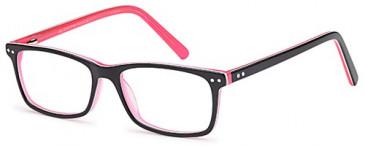SFE-9511 glasses in Black/Pink