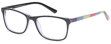 SFE-9524 glasses in Black/Purple