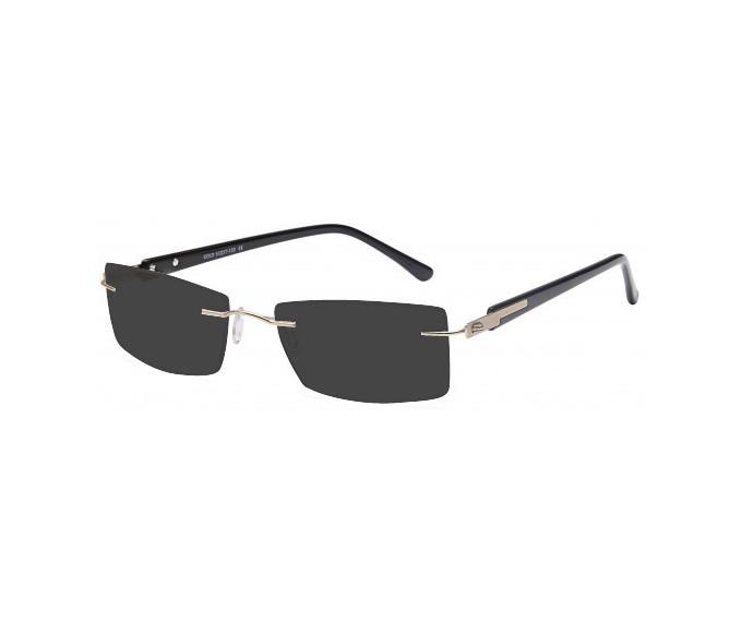 SFE-9571 sunglasses in Gold